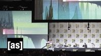 Samurai Jack Panel SDCC 2016 Samurai Jack Adult Swim