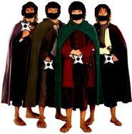 Hobbit-ninjas