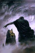Melkor and Hurin - Ted Nasmith