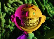 Terrifying smile