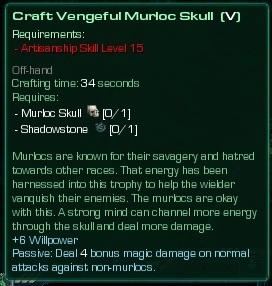 Vengeful Murloc Skull
