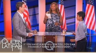 "Tony Goldwyn Plays ""Name That President"" on The Queen Latifah Show"