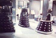 Davros and Daleks