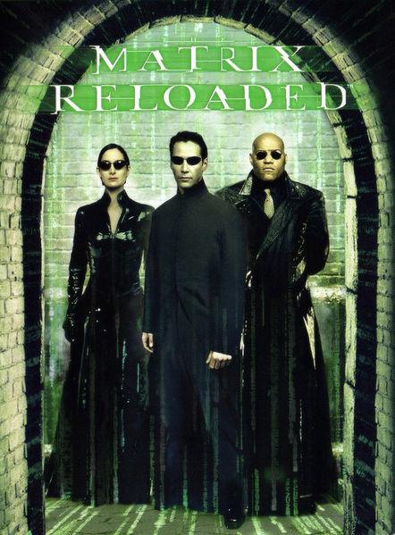 Matrix Reloaded Cover