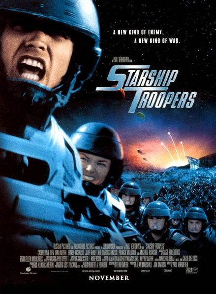 Starship Troopers - movie poster