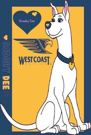 Scooby Dee West Coast Eagles