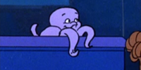 Baby octopus (Scooby's Night with a Frozen Fright)