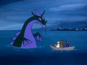 Sea serpent (The Lochness Mess)