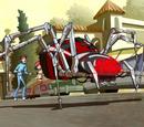 Jason Wyatt's spider robot