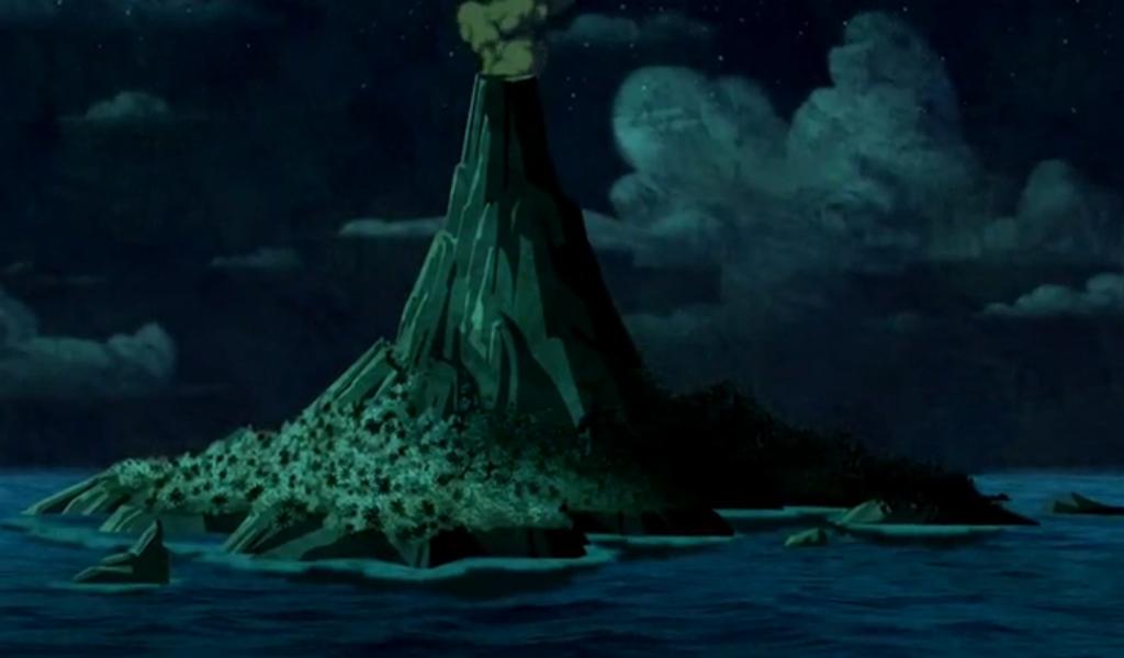 Volcano Island   Scoobypedia   Fandom powered by Wikia