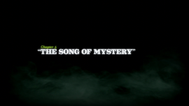 The Song of Mystery title card