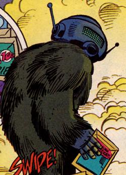 Gorilla Spaceman Pirate