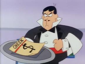 Le Gunque waiter
