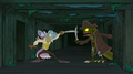 Scoob swordfights sea creature.png