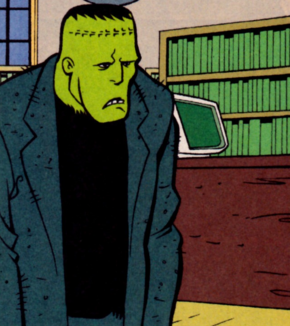 Frankenstein's Monster (The Library Lurker)
