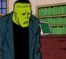 Frankenstein's Monster (The Library Lurker)