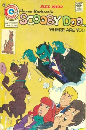 WAY 2 (Charlton Comics) front cover