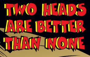 Two Heads Are Better Than None title card