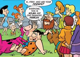 Gang meets the Flintstones