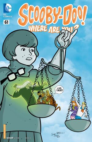 WAY 61 (DC Comics) front cover