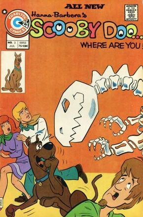 WAY 3 (Charlton Comics) front cover