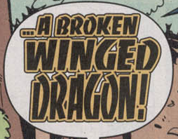 A Broken Winged Dragon title card