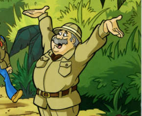Professor Peabody (Jungle Jeopardy)