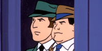 Gotham City detectives (The Dynamic Scooby-Doo Affair)