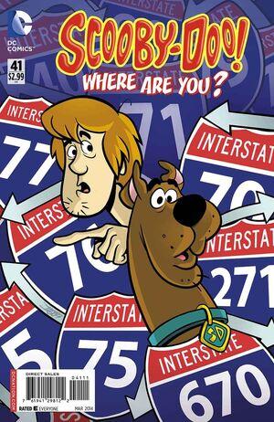 WAY 41 (DC Comics) front cover