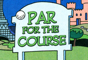 Par for the Course title card