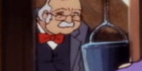 Elderly tourist wearing bow tie (Scooby-Doo and the Witch's Ghost)