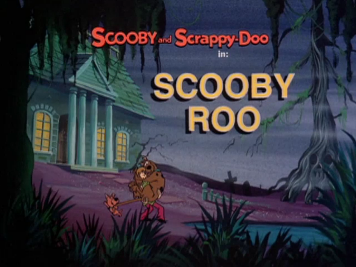 Scooby Roo title card