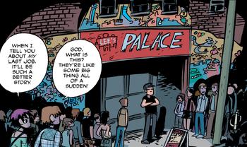 Lee's palace comic