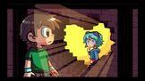 Scott pilgrim and ramona flowers wall