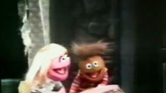 Classic Sesame Street Prairie Dawn and the Haunted House (somewhat better copy)
