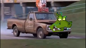 'Harriet Hippo and the Mean Green Trucks' Part 2 Harriet the Hippo Truck (2003-04-01 - Cyberchase 203)