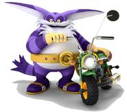 BigTheCat-Sonic&SegaAllStarsRacing