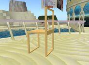 Figura 1.6. Construção das costas da cadeira.