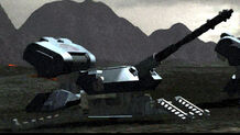 Mobile artillery121