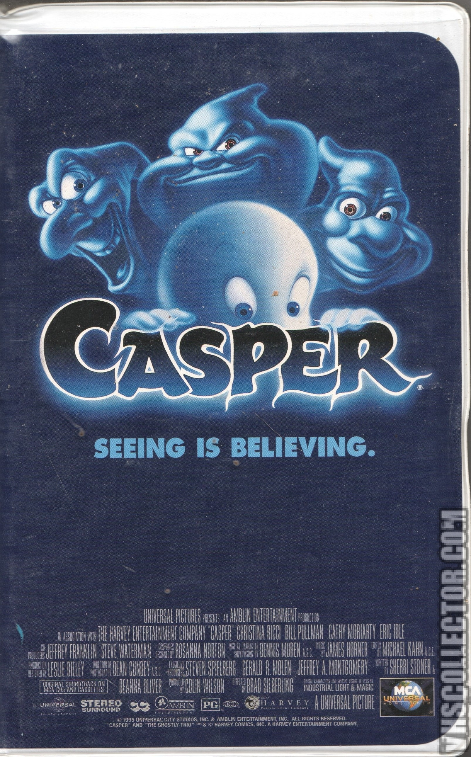 Opening To Casper 1995 VHS (Fake Version) | Scratchpad ...