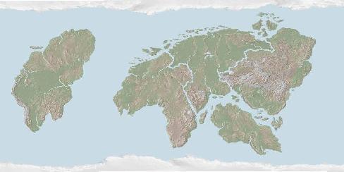 WorldMapSmBlkOceSea