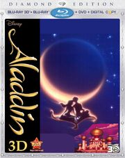 Aladdin on 3d Bluray