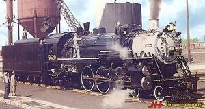 Recent Losses -- Steam Locomotives Scrapped Since 1959 - Grand Trunk Western 4-6-2 -5629