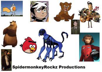SpidermonkeyRockz Productions