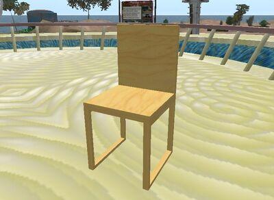 Figura 1.7.Modelo final da cadeira