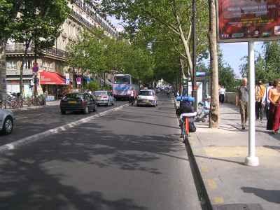 Paris bus-bici