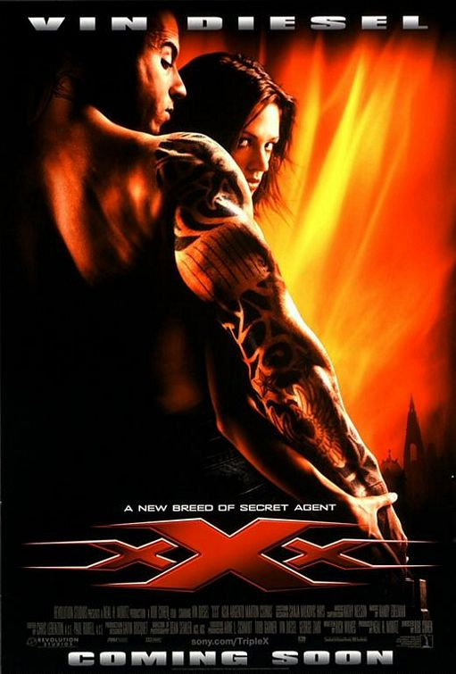 xXx (2002) Hindi Dubbed Movie *DVD*