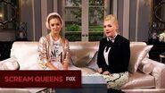 SCREAM QUEENS Between 2 Queens With Abbie & Billie