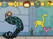 Scribblenauts unlimited 3DS underwater