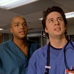 J.D. and Turk share a flashback